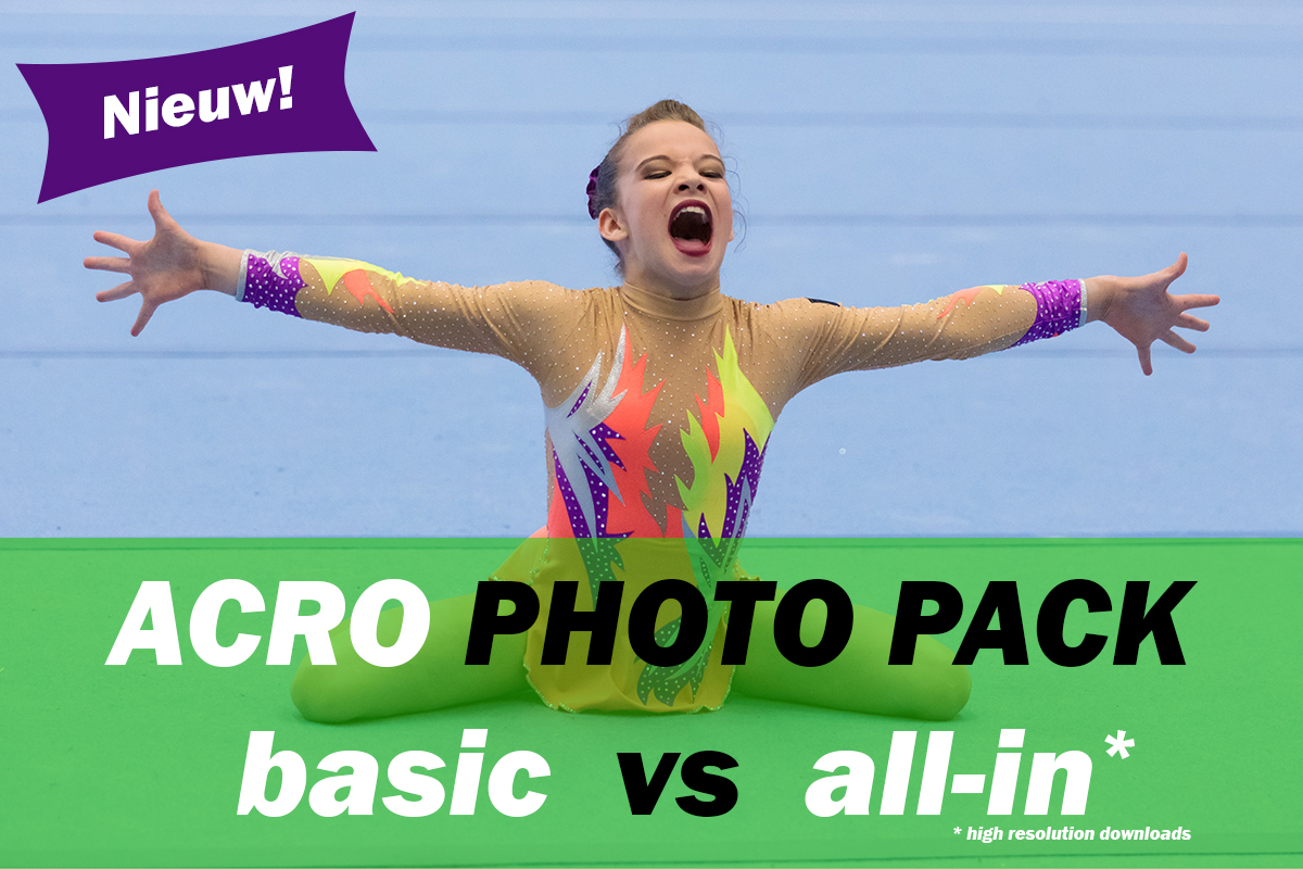 Nieuw: Acro Photo Packs